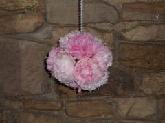 Pink Peony Pomanders (2)