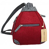 Burgundy Back Pack