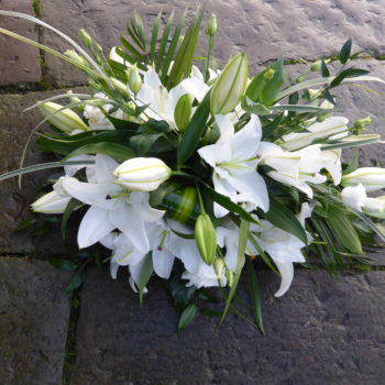 White Lily Spray (2)
