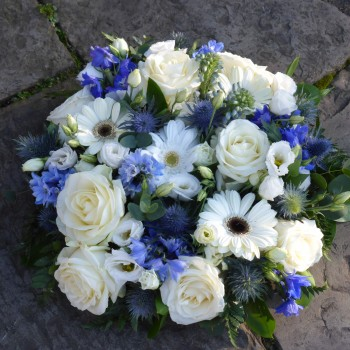 Blue and White Posy (2)